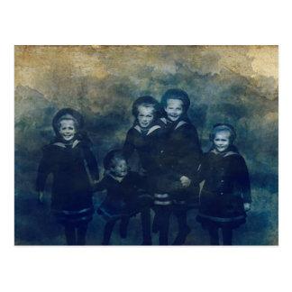 ロマノフ家の子供 ポストカード