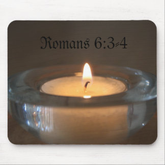 ロマンの6:3 - 4本の蝋燭のマウスパッド マウスパッド