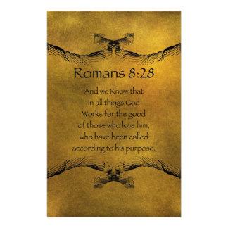 ロマンの8:28 便箋