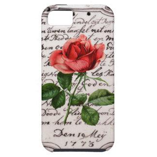 ロマンス上がりました iPhone SE/5/5s ケース