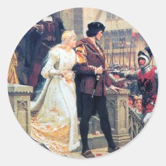 ロマンス中世結婚式 ラウンドシール