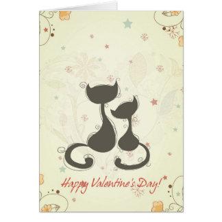 ロマンス子猫 カード
