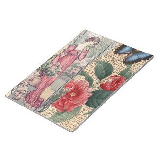 ロマンス庭 ノートパッド