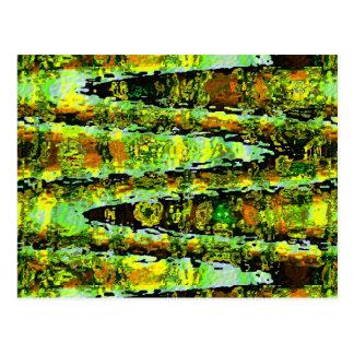 ロマンス緑の礁湖: nスペクトルを振ります ポストカード