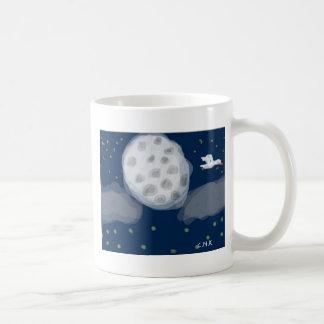 ロマンチックで完全なmoon.JPG コーヒーマグカップ