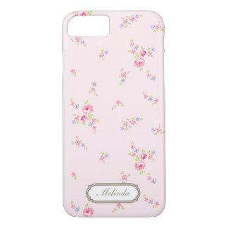 ロマンチックなばらの淡いピンクのiPhone 7の箱 iPhone 7ケース