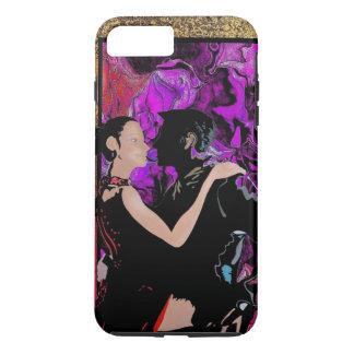 ロマンチックなアールデコのスタイルのダンサー iPhone 7 PLUSケース