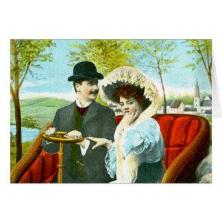 ロマンチックなカップル カード