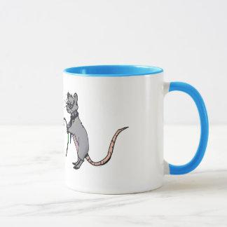 ロマンチックなネズミ マグカップ
