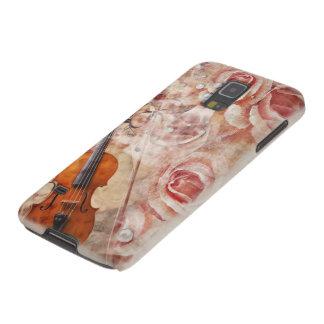 ロマンチックなバイオリンのSamsungの銀河系S5の箱 Galaxy S5 ケース
