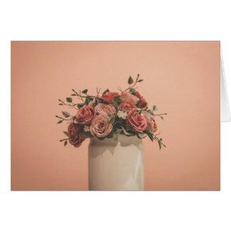 ロマンチックなバラ カード