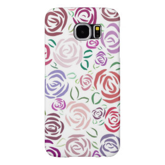 ロマンチックなバラ、Samsungの銀河系S6の箱 Samsung Galaxy S6 ケース