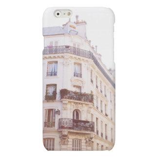 ロマンチックなパリの建物、柔らかいパステル調の写真