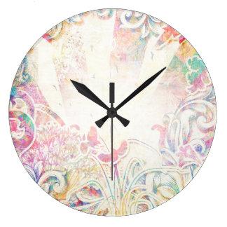 ロマンチックなビクトリア時代の人 ラージ壁時計