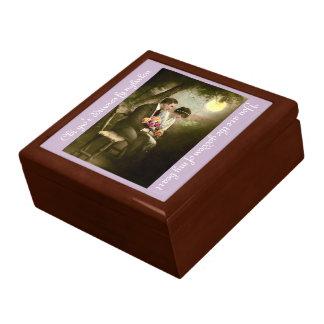 ロマンチックな二か国語のギフト用の箱 ギフトボックス