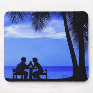 ロマンチックな夕べ マウスパッド