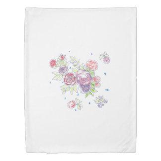 ロマンチックな女の子のためのロマンチックな夜羽毛布団カバー 掛け布団カバー