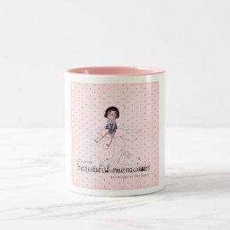 ロマンチックな女の子 ツートーンマグカップ