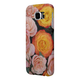 ロマンチックな愛花束Samsung6の箱のテンプレート Samsung Galaxy S6 ケース