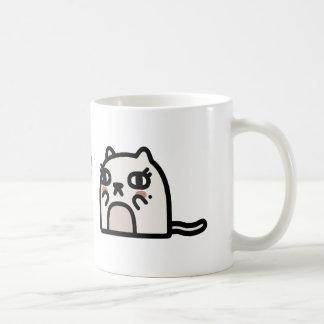 ロマンチックな猫 コーヒーマグカップ