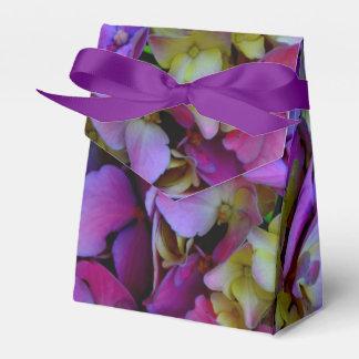 ロマンチックな紫色のアジサイ フェイバーボックス