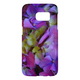 ロマンチックな紫色のアジサイ SAMSUNG GALAXY S7 ケース