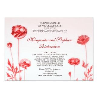 ロマンチックな結婚記念日 カード