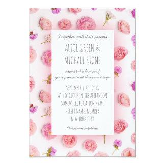 ロマンチックな花のスタイル カード