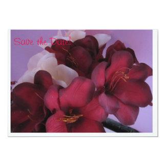 ロマンチックな花 カード