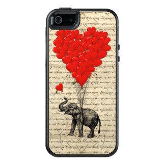 ロマンチックな象のハート オッターボックスiPhone SE/5/5s ケース