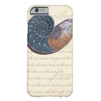 ロマンチックな貝殻 BARELY THERE iPhone 6 ケース