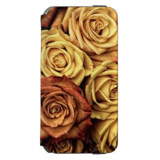 ロマンチックな黄色バラの例 INCIPIO WATSON™ iPhone 5 財布型ケース