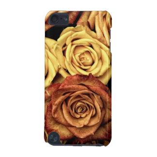 ロマンチックな黄色バラの例 iPod TOUCH 5G ケース