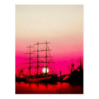 ロマンチックな   北海- Bremerhaven ポストカード