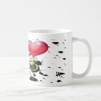 ロマンチックなPFVの蜂 コーヒーマグカップ