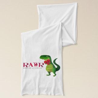 ロマンチックなRAWRのTレックスの恐竜 スカーフ