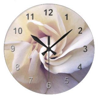 ロマンチック上がりました ラージ壁時計