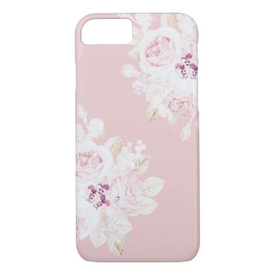 ロマンティックなバラ柄のiPhone7ケース iPhone 8/7ケース