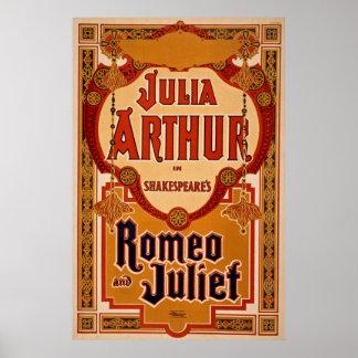 ロミオ及びJulietのヴィンテージポスター ポスター