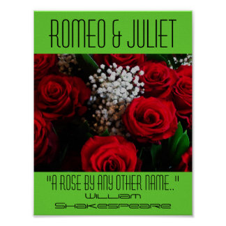 ロミオ及びJulietポスターバラのシェークスピアのフェスティバル ポスター