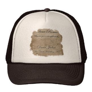 ロミオJuliet メッシュ帽子