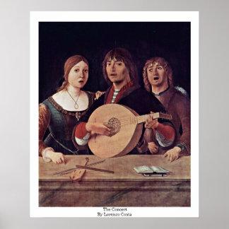 ロレンツォの肋骨によるコンサート ポスター