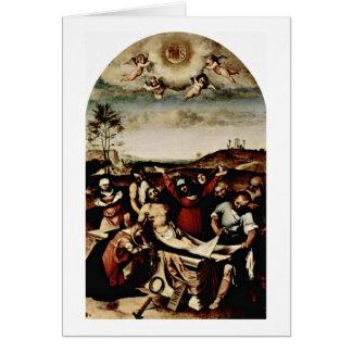 ロレンツォ・ロット著十字 カード