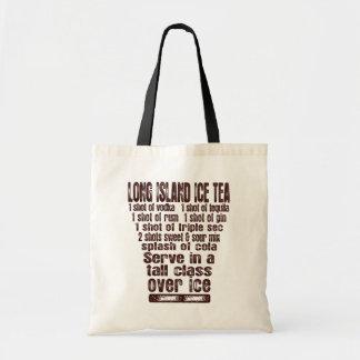 ロングアイランドのアイスティーのバッグ-スタイル及び色を選んで下さい トートバッグ
