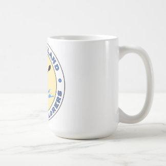 ロングアイランドのカヤックの探検家のマグ コーヒーマグカップ