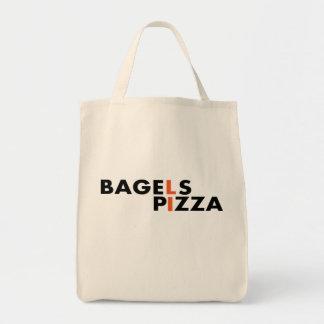 ロングアイランドのピザおよびベーゲルはベストです トートバッグ