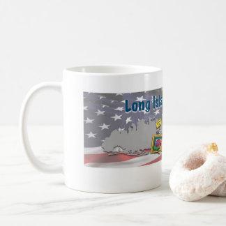 ロングアイランドのヤードセールのマグ コーヒーマグカップ