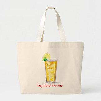 ロングアイランドは茶を凍らしました ラージトートバッグ