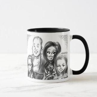 ロングアイランド家族の風刺漫画のマグ13a マグカップ