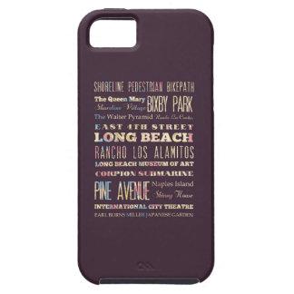 ロングビーチ、カリフォルニアの有名な場所 iPhone SE/5/5s ケース